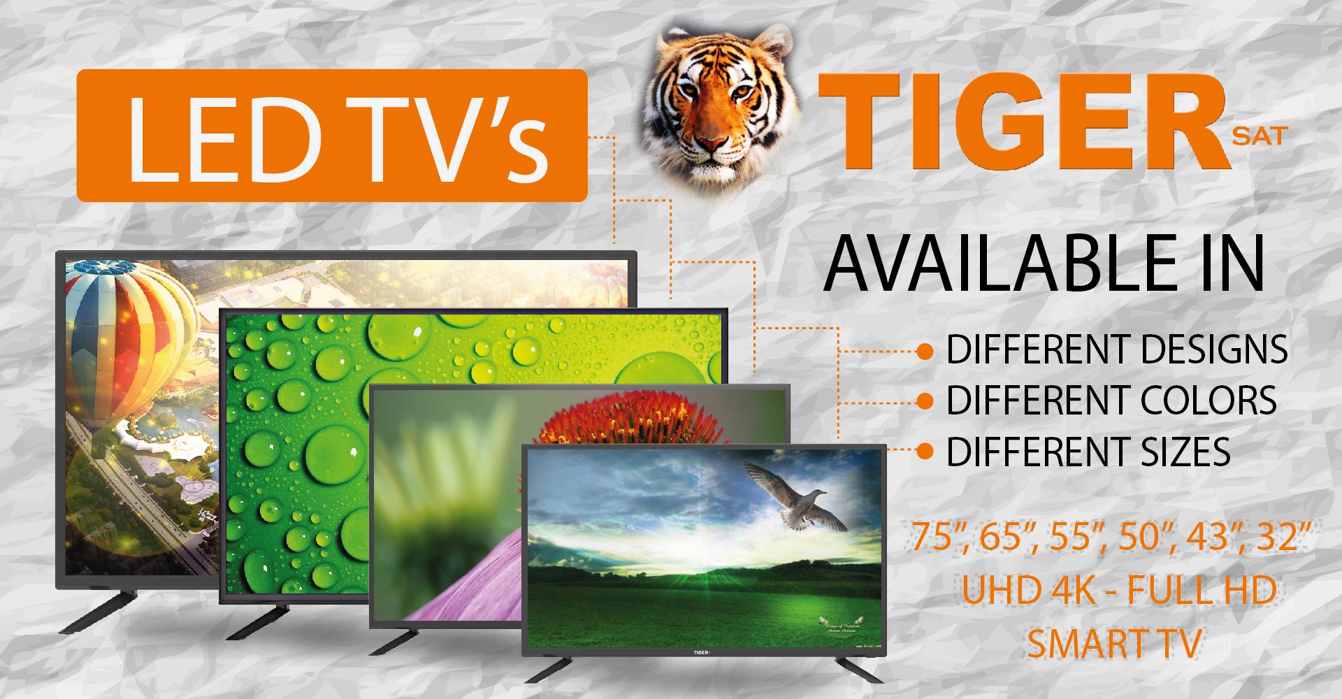 HOME_TIGER SMART DIGITAL SATELLITE RECEIVER SET TOP BOX LED TV
